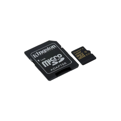Kingston Micro SDHC 16GB Class U3 + Adaptador