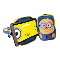 "Tablet eSTAR Tema Minions Dave Quad 8"" Inclui Capa"